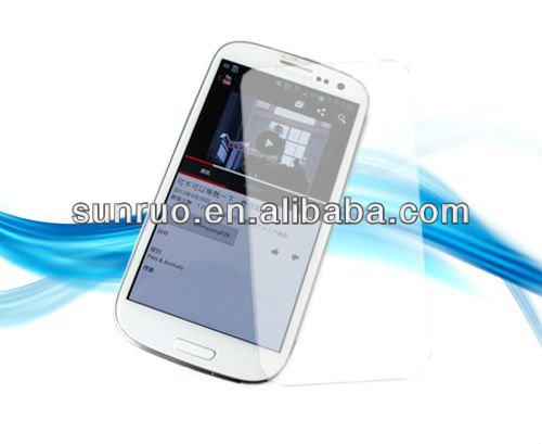 0.15mm slim ultra-thin for Galaxy S4 9500 Screen Protector Premium Tempered Glass