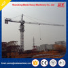 tower crane specification, 1.0t tip loading, 6t max.loading construction tower crane price