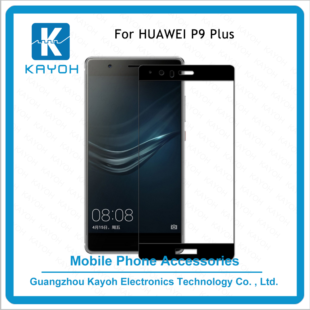 [kayoh]orginal nuglas 3D Tempered Glass Screen Protector Guard phone Cover for HUAWEI P9 plus