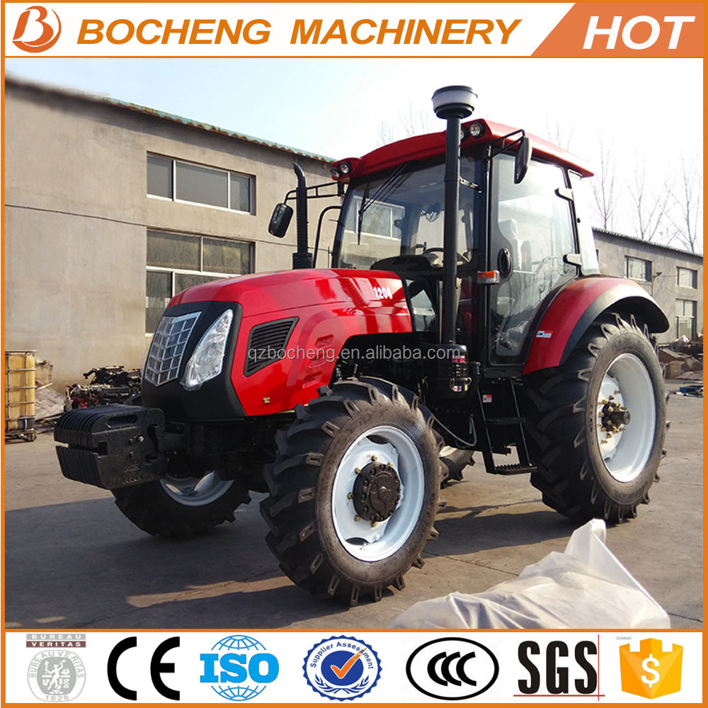 120hp YTO engine 1204 meets Euro III new farmtrac tractor price