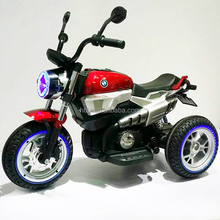 2018 New Model Children 12V electric 3 wheels motorcycle /Kids battery operated ride on motorcycle with Lighting wheels