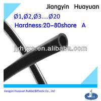 high quality free sample small rubber tube(EPDM,silicone,Neoprene)
