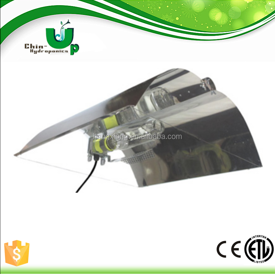 hydroponic 600w adjustable wings reflector / reflector hood/ reflector aluminum sheet for lighting