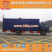 2016 newly produced 4X2 DONGFENG brand 10T 170hp van cargo truck attractive and reasonable price for sale.