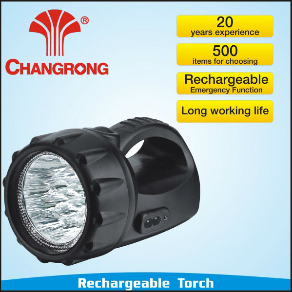 Rechargeable Emergency Portable High power Led Torch/Flashlighting