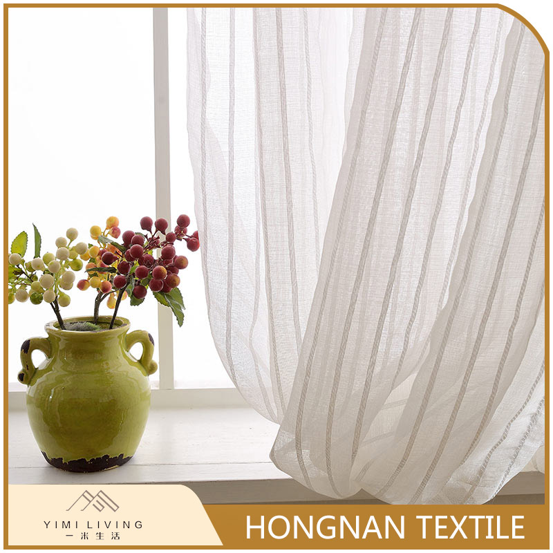Cheap best selling classical woven austrian sheer curtains