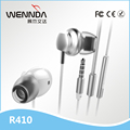 Super Deep bass Metal In-Ear Headphone Wenda R410
