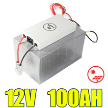 Rechargeable lifepo4 12v 100ah high capacity battery for solar/windy systems energy storage