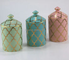 lovely ceramic sweet jars many colors