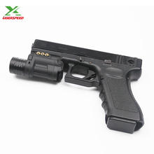 Dual beam rifle or pistol mounted 532nm green laser sight