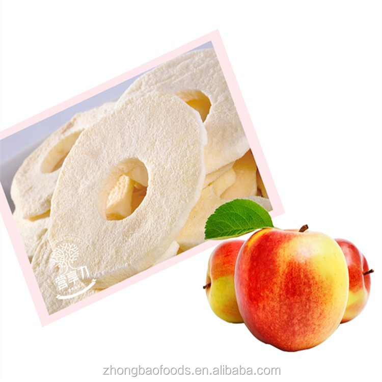 Chinese Healthy snacks freeze dried apple FD fruit in gift package