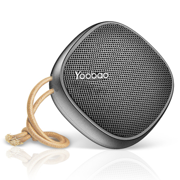 Yoobao Portable Speaker Small Outdoor Home Wireless Travel Speaker HD Sound Bass, 2000mAh Battery 33 Ft Range Hand