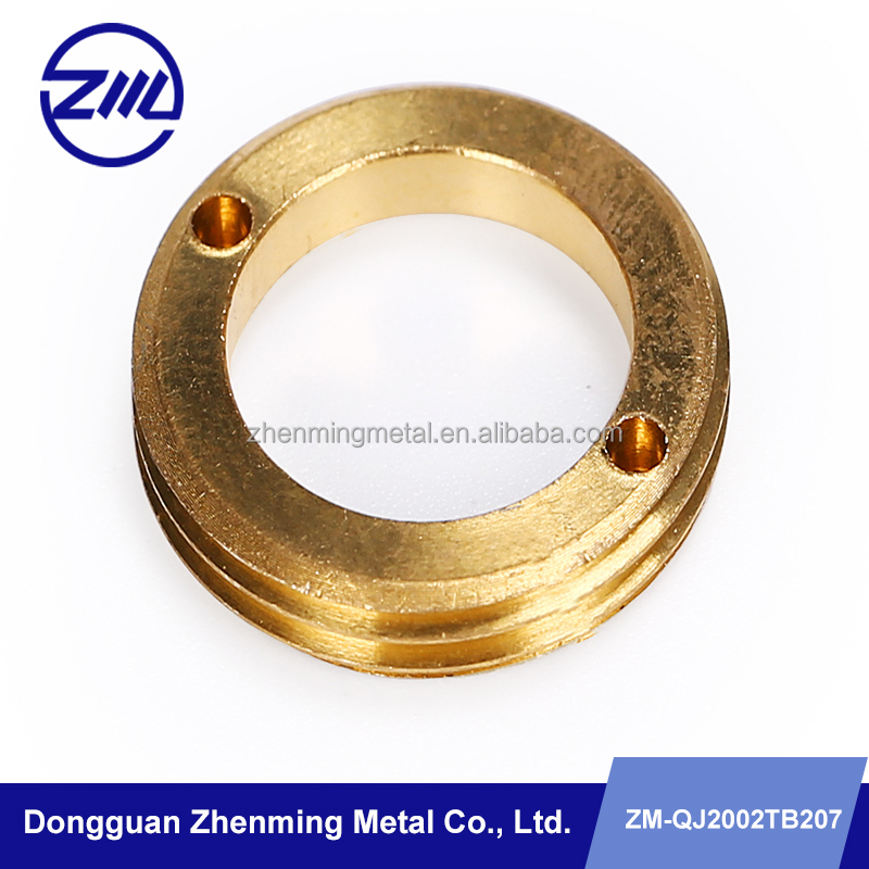 High precision CNC turning cnc machining brass lamp cover,LED lamp house