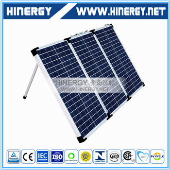 folding solar panel kit for home use camping 60W 90Wp 120W 150Watt 180W poly solor panel portable solar kits foldable pv modules