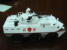 Guo hao hot sale kids toy craft , armored model car