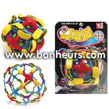 New Novelty Toy Suction Plate Deformation Twist Sphere Ball