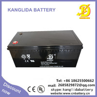 maintenance free battery,electric power accumulator,small rechargeable 12v battery