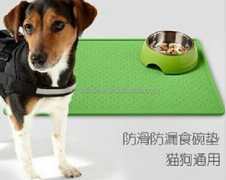 silicone dog place mat