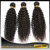 virgin remy human hair weave mongolian kinky curly hair