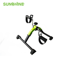 Medical Folding Pedal Exerciser with Electronic Display for Legs and Arms Workout DL101