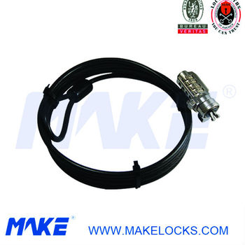 MK815-1 Keyless Combination Notebook Lock