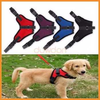 Outdoor Walk Saddle Type Breathable Mesh Dog Pet Harness For Medium Large Dogs