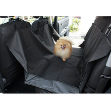 600D oxford waterproof pet hammock rear car seat cover