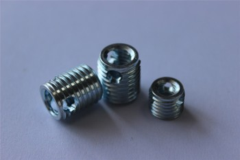 307/308 self tapping insert M4*0.7 with three cutting bores manufacture made