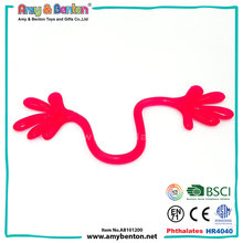 Best promotional kids funny sticky wall hand toys