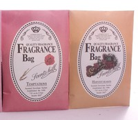 Long lasting Flower/fruity scents scented aroma perfume sachet