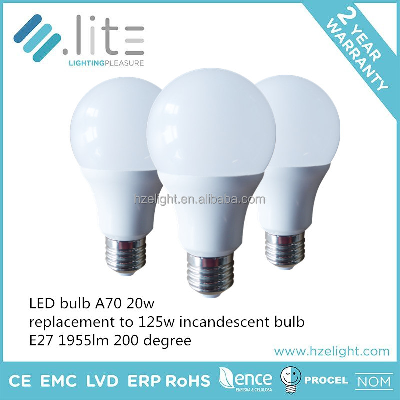 A60 3w 5w 9w 12w 16w A70 20w A60 table led lamp bulb light A60