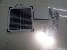 Hot selling 10W 20W 30W mini solar home lighting system / portable DC solar kits for camping