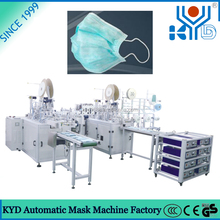 Automatic Surgical Procedure Dust Face Mask Activated Carbon Filter Mask Making Machine