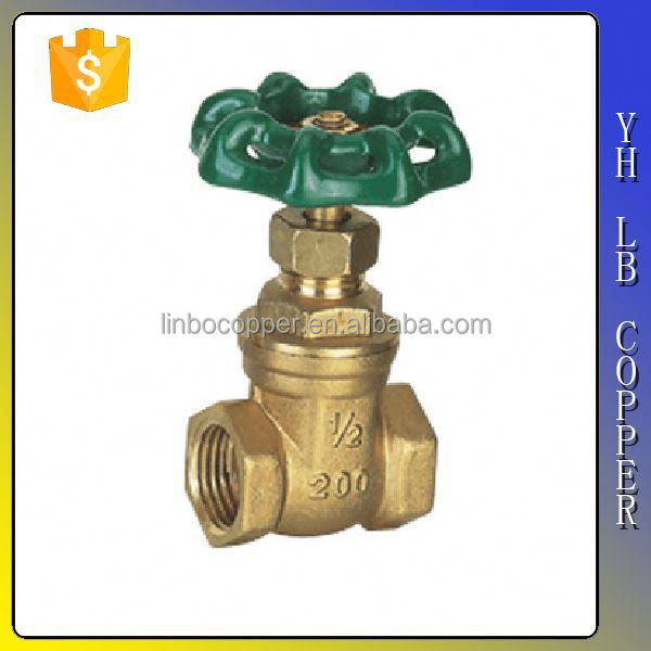 China supplier B148 C95800 aluminum bronze gate valve LINBO-C673