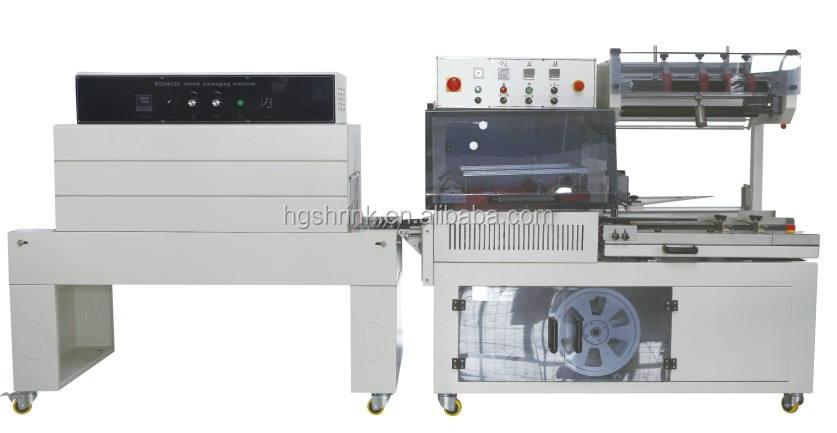 A4 paper heat shrink packing machine (HG-5545+HG-D4520)