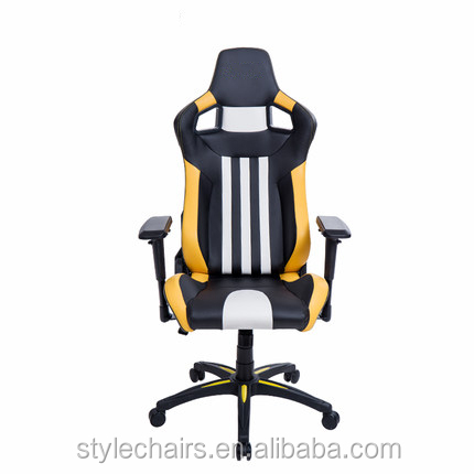 Free sample Johoo modern high quality leather PC office racing gaming chair