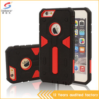 Bulk phone housing for iPhone 5/5S pc tpu shockproof protective case