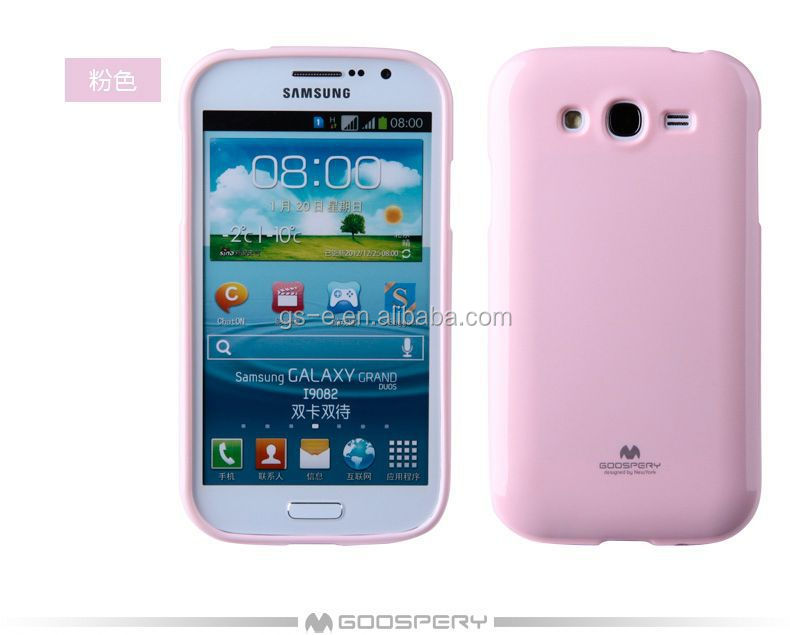 Hot selling Mercury Goospery jelly case bling shining TPU mobile phone jelly case for SAMSUNG GALAXY S4 Active I9295