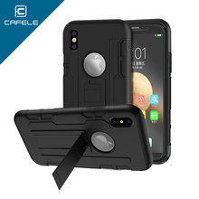 CAFELE Newest Design High Protective PP/TPU/Silicone Phone Cover Mobile Phone Case for iPhone X