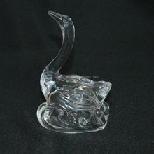 dancing glass swan