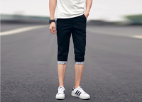Summer printing casual breeches pants Beach Shorts Pants