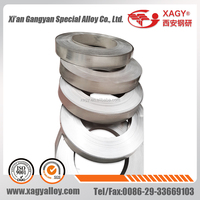 High Permeability Soft Magnetic Alloy 1J50 1J79 1J85 Permalloy strip for making Shielding and permalloy core
