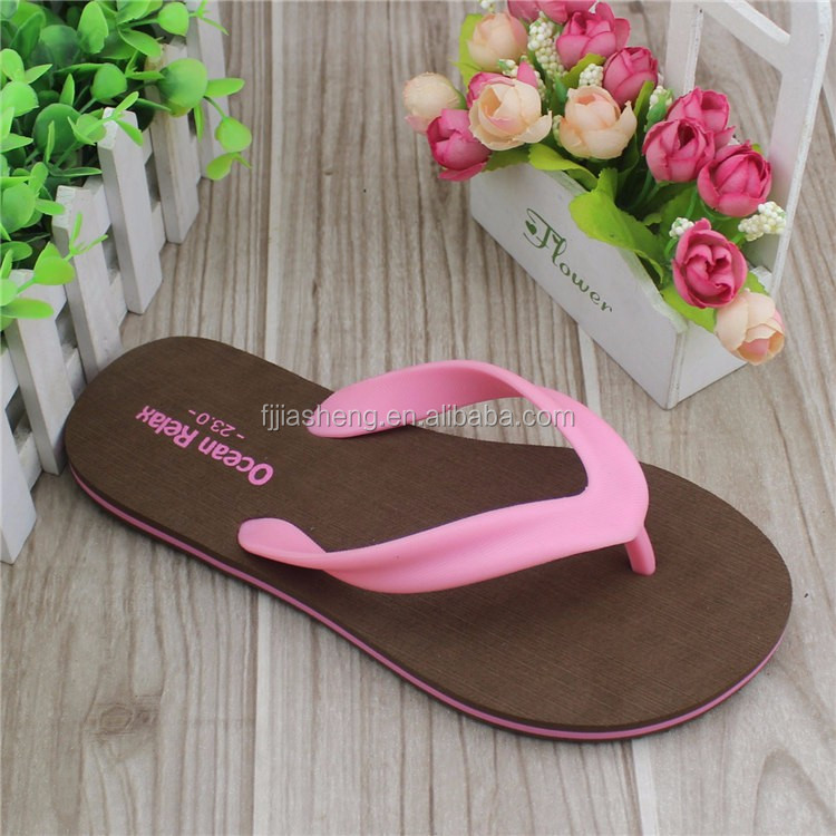 Fashion Kids Sandals Stock Shoes Cheap Wholesale Pu Eva Rubber Plastic Slippers Girls Flip Flop