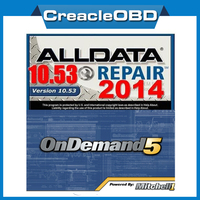 ALLDATA 10.53+2015 Newest Auto Repair Software Mitchell On Demand5 in 1TB HDD
