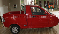 Mini three wheel pickup truck with EEC certification fashionable design