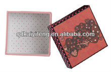 clothes/tie packaging box ,corrugated storage box, packaging containing box