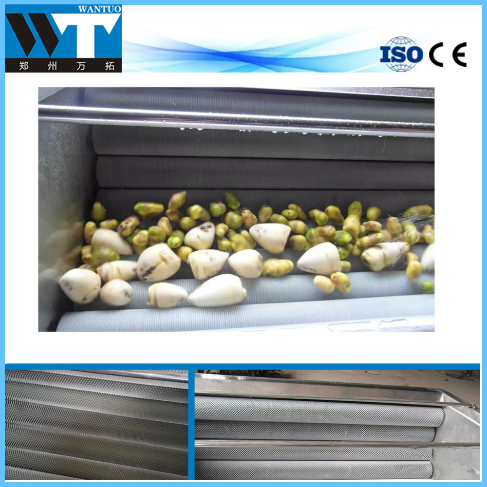 Stainless steel root vegetable washer with factory price