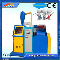 2015 Best Choice!!! user-friendly design small copper cable granulator