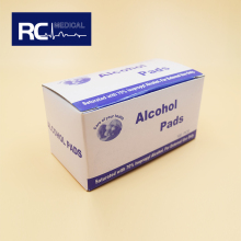Wholesale high quality medical sterilized products alcohol prep pads cvs