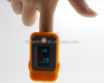 FDA approved OLED Fingertip Pulse Oximeter With Audio Alarm